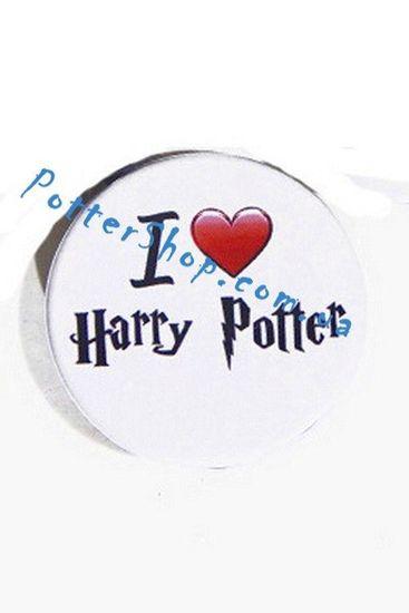 Значок Я люблю Гарри Поттера