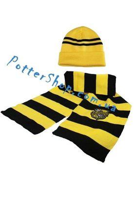 шарф и шапка Пуффендуй