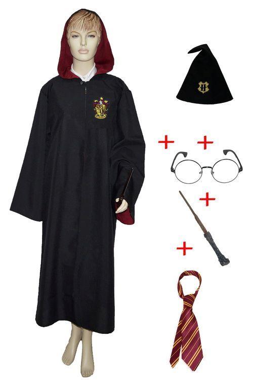 Мантия Гарри Поттера, мантия Гриффиндор, карнавальные ...