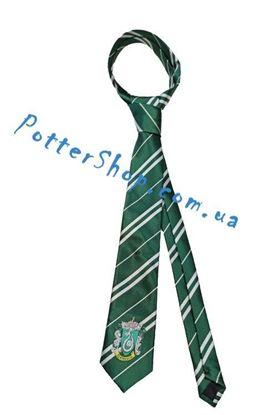 галстук Слизерин с эмблемой